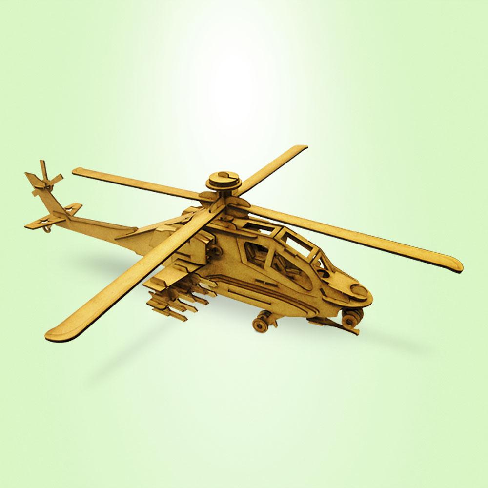 ludens_spirit_quebra_cabeca_3D_helicoptero_militar_01