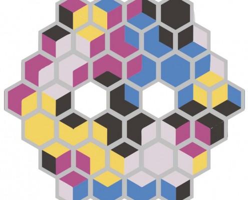 meu jardim hexagono